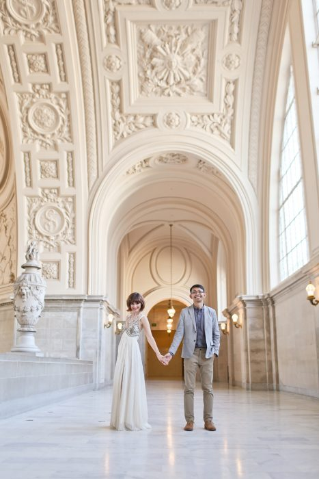 Olya & Tony: San Francisco City Hall Engagement Photography