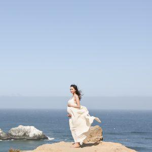 San Francisco Sutro Baths Maternity Portraits