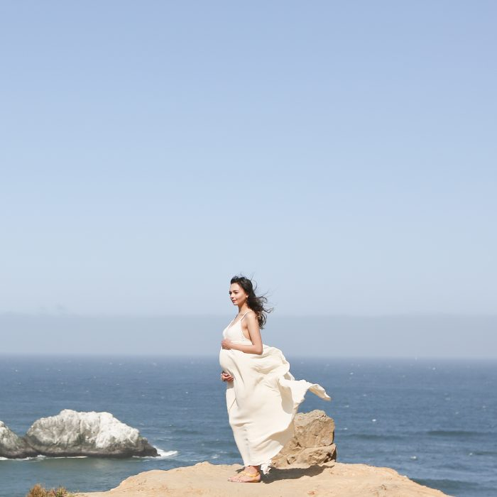 Angela & Wayne: San Francisco Sutro Baths Maternity Portraits