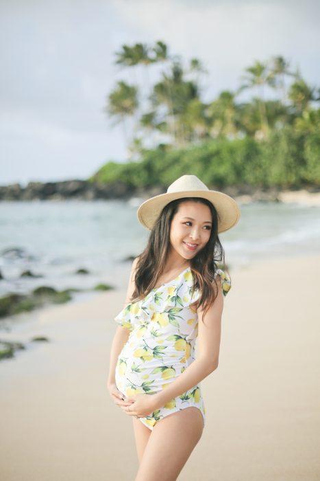 Jen's Babymoon: Oahu Maternity Portraits