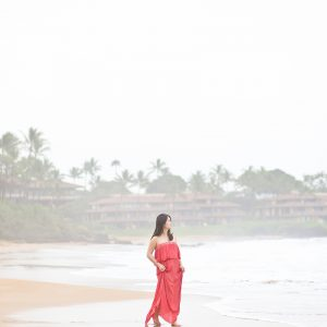 Maui Sunrise Maternity Portraits