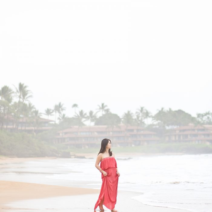 Christina & Johnny: Maui Sunrise Maternity Portraits